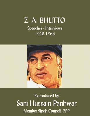 Bhutto: Speeches 1948-66