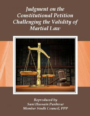 Judgment of the Constitutional Petition Challenging the validity of Martial Law
